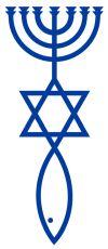 Symbol der messianischen Juden
