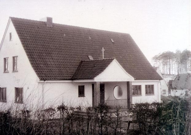Koebner-Kapelle Siems: 1956