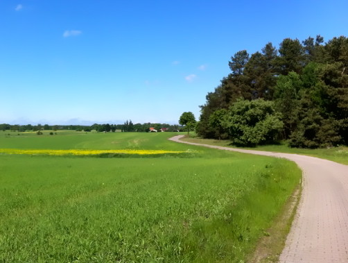 Radtour in Mecklenburg