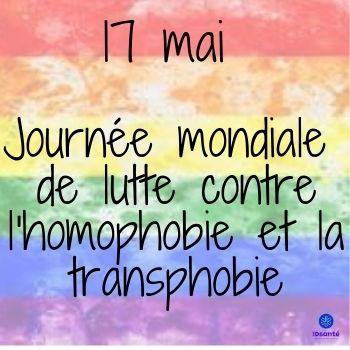 17 mai 2021 : Journée internationale de lutte contre l'homophobie