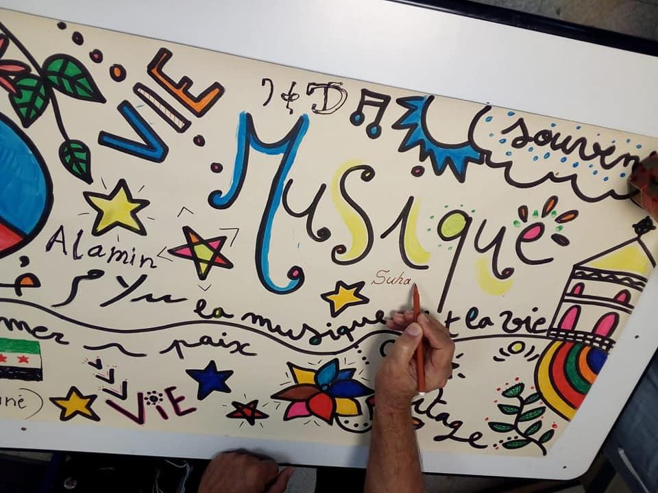 Rejoignez l'atelier chant et art graphique !