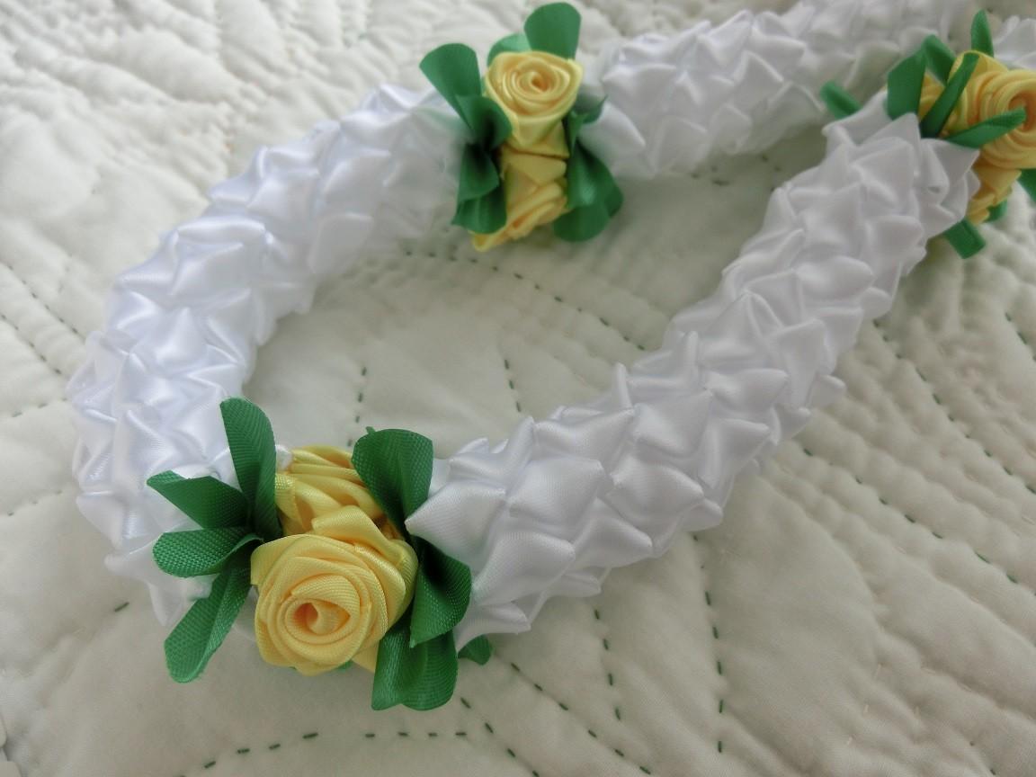Rose with Crownflower  laulele original
