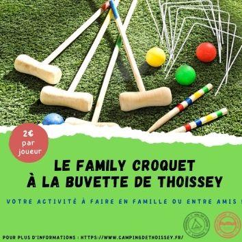 Jeu du Croquet pour toute la Famille