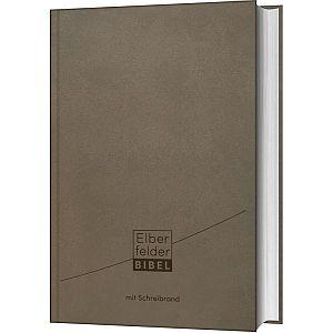 Elberfelder Bibel mit Schreibrand