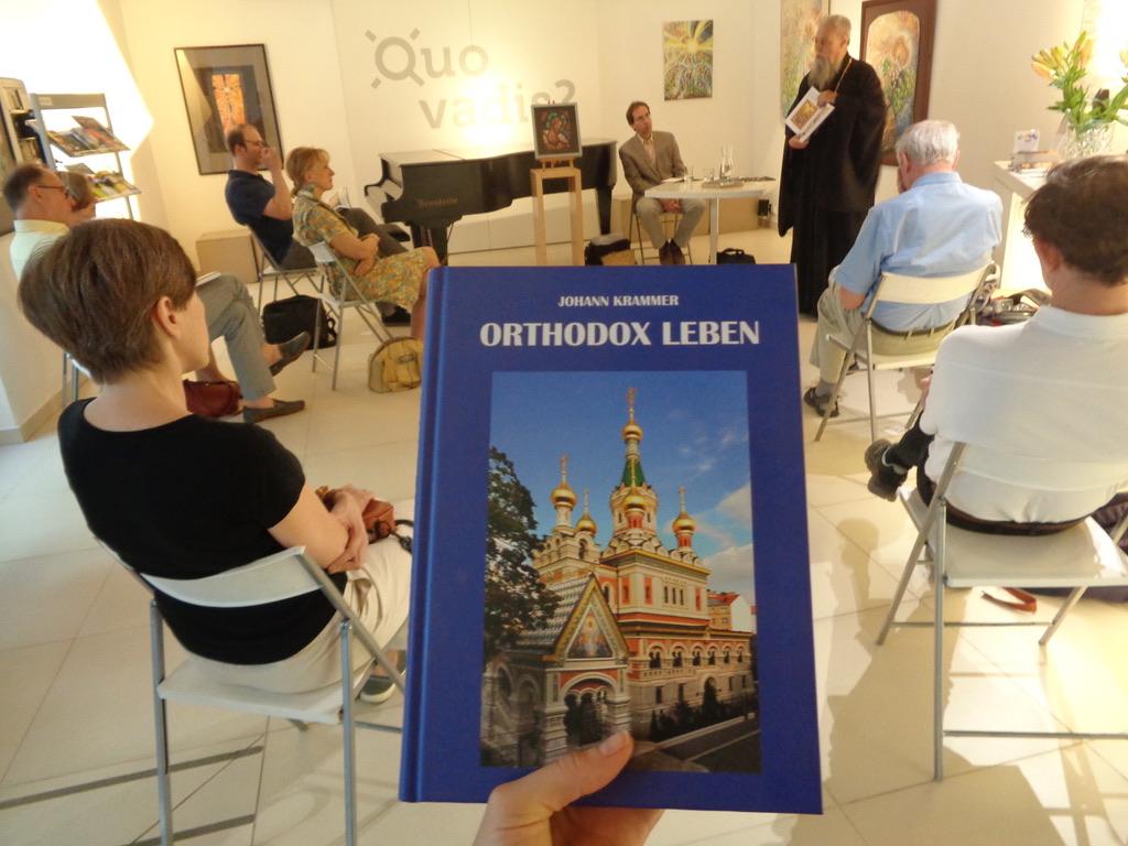 """Dienstag, 29. Juni 2021: Buchpräsentation """"Orthodox leben"""""""