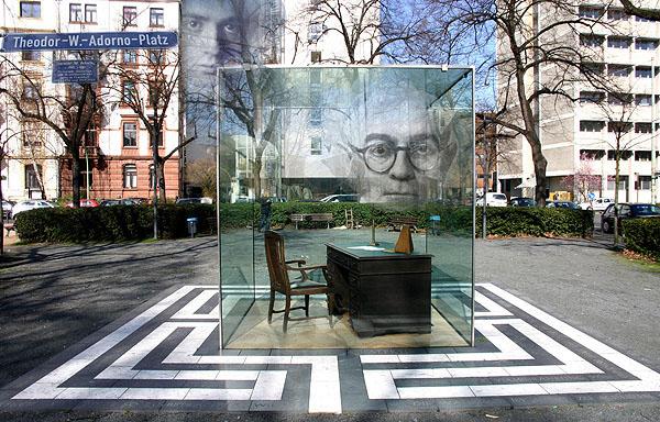 Adorno Monument, Frankfurt