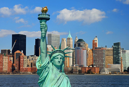 New York - Metropole von den USA. Auslandssemester in New York, USA, dem Big Apple von Amerika.