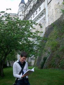 promenade littéraire à Amboise-Promenadine
