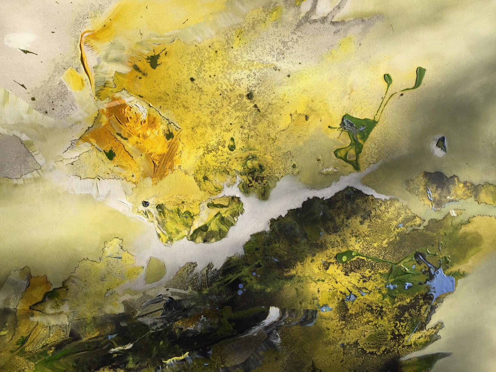 Der Flug der Schmetterlinge, Acryl auf Leinwand, 80 x 60 cm
