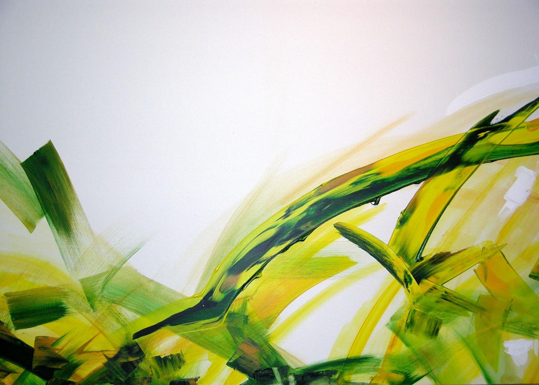 Frühling, Öl auf Leinwand, 100 x 80 cm