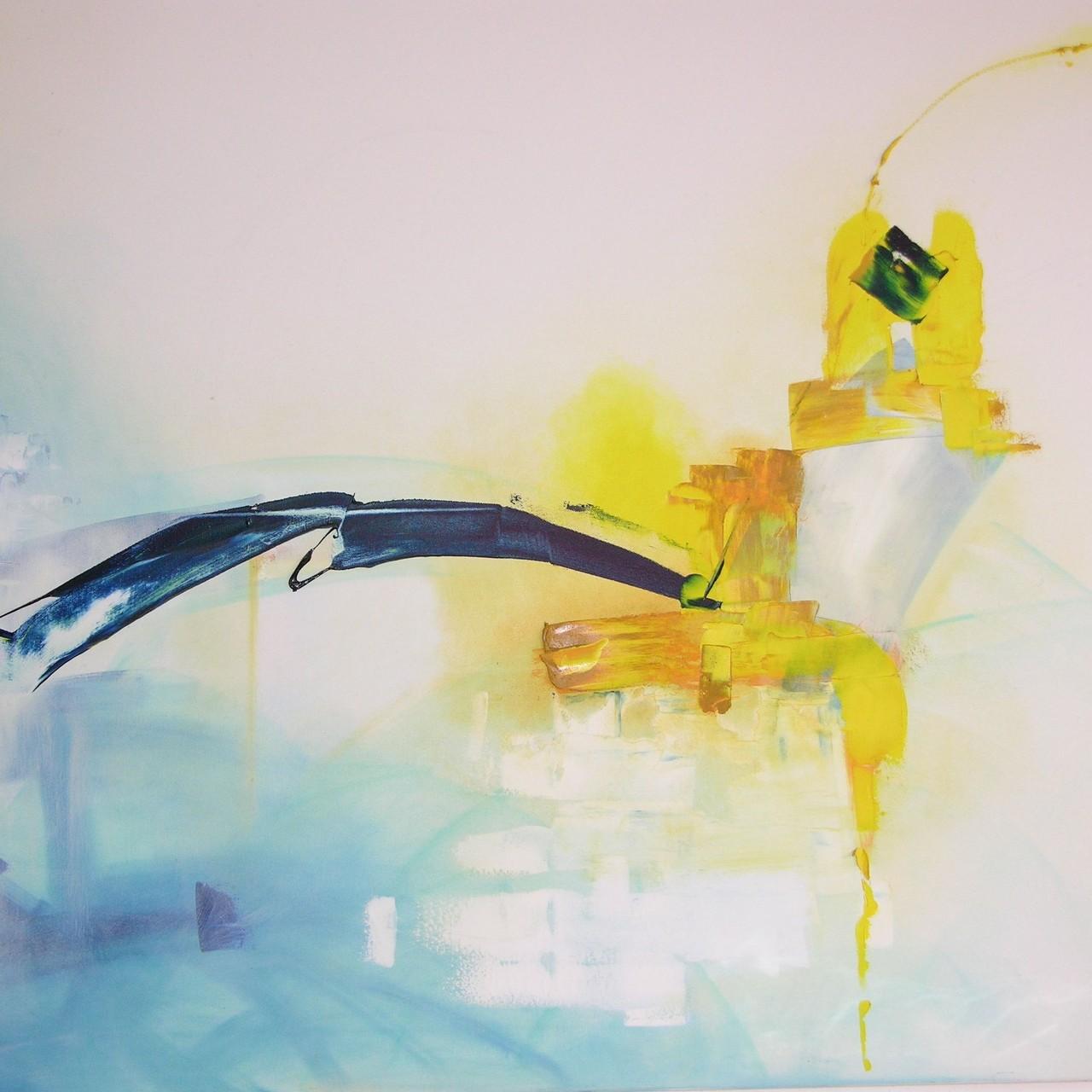 Aufbruch, Öl auf Leinwand, 150 x 100 cm