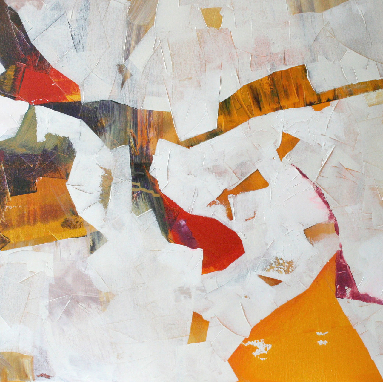 Der Papagei, Acryl auf Leinwand, 80 x 60 cm