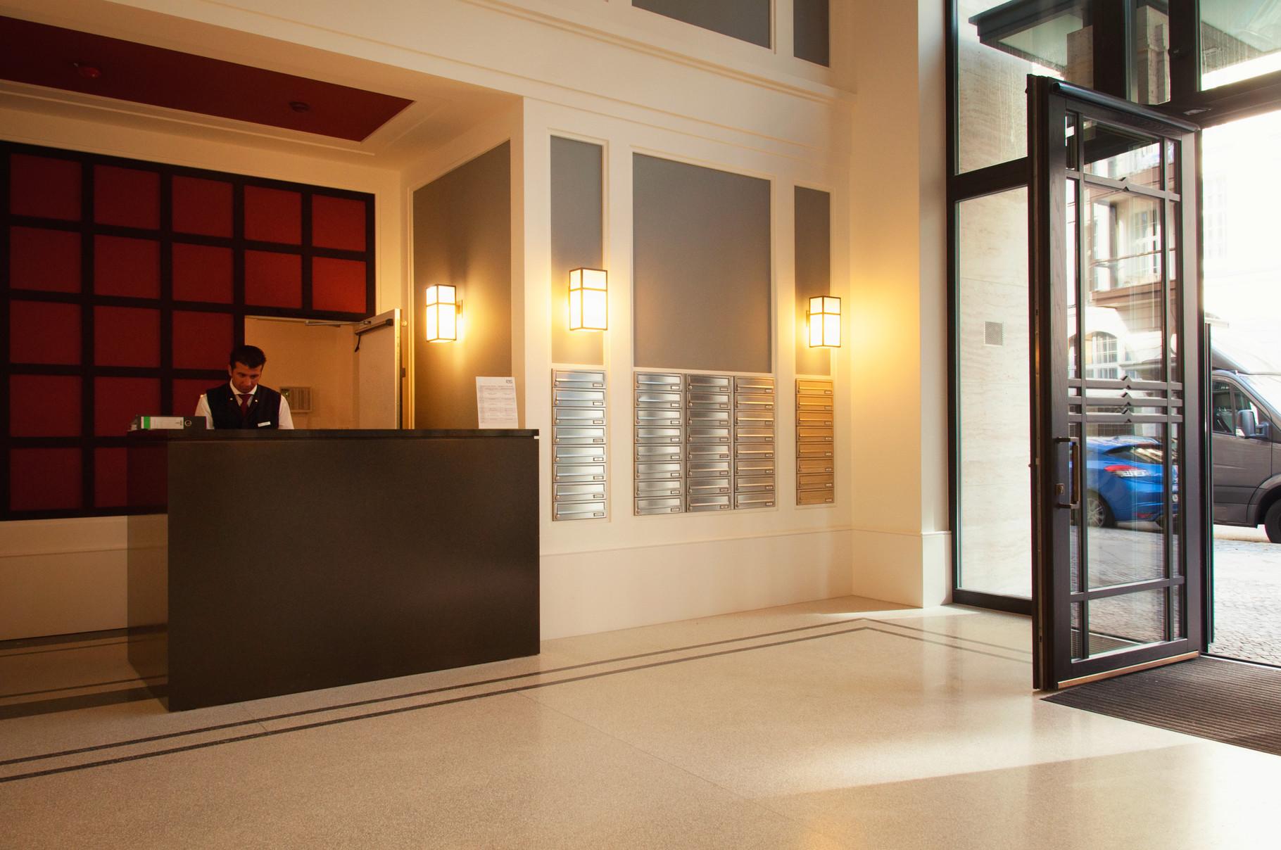 Unterputz Briefkastenanlagen Foyer