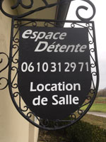 Numéro de téléphone ED location salle Espace Détente location de salle proche de Dunkerque.