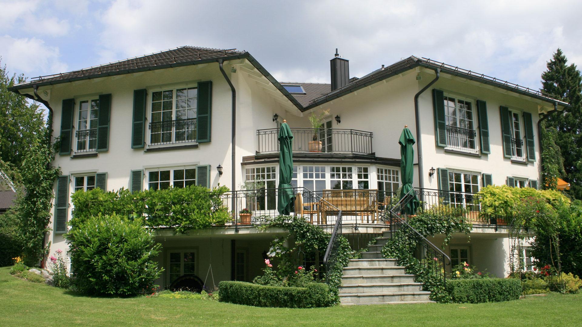 """Einfamilienhaus, Tutzing - Familie Steinmüller: """"Das Bauen war eine Freude"""""""