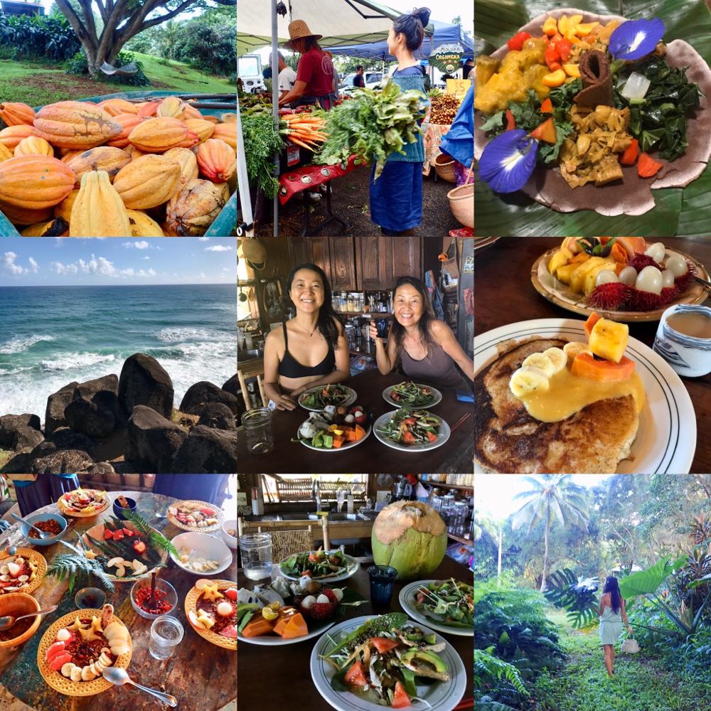 2019年のお皿に描く宮古島 島やさい薬草 プレート