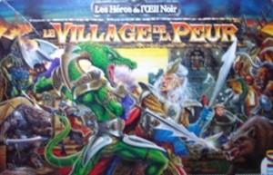Le Village de la Peur , première extension du jeu de plateau de  l'Oeil Noir.
