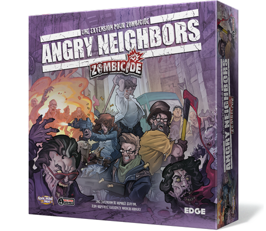 Zombicide Boite Angry Neighbors Extension saison 3