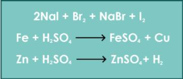 Se representa mediante la siguiente ecuación: A: + :AB: → :AC: + B:.