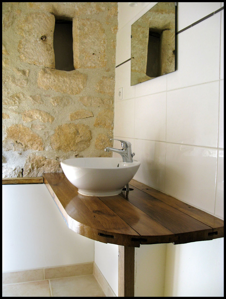 Salle de bain chambre La Joyeuse