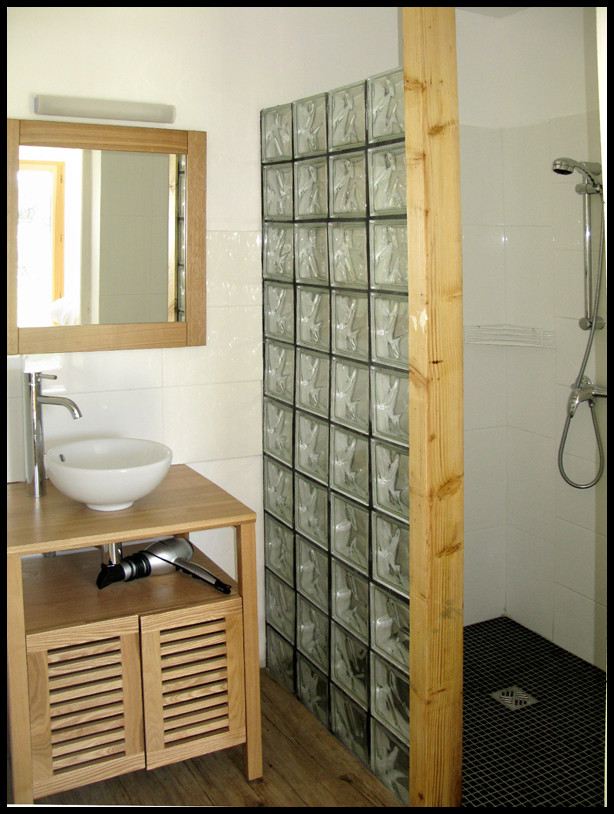 Salle de bain, chambre Le Verdanson