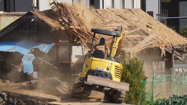 解体工事業の経過措置期間が終了します