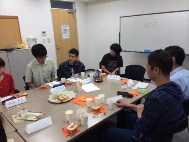2014.9上智大学院言語聴覚研究コース学生との交流会2