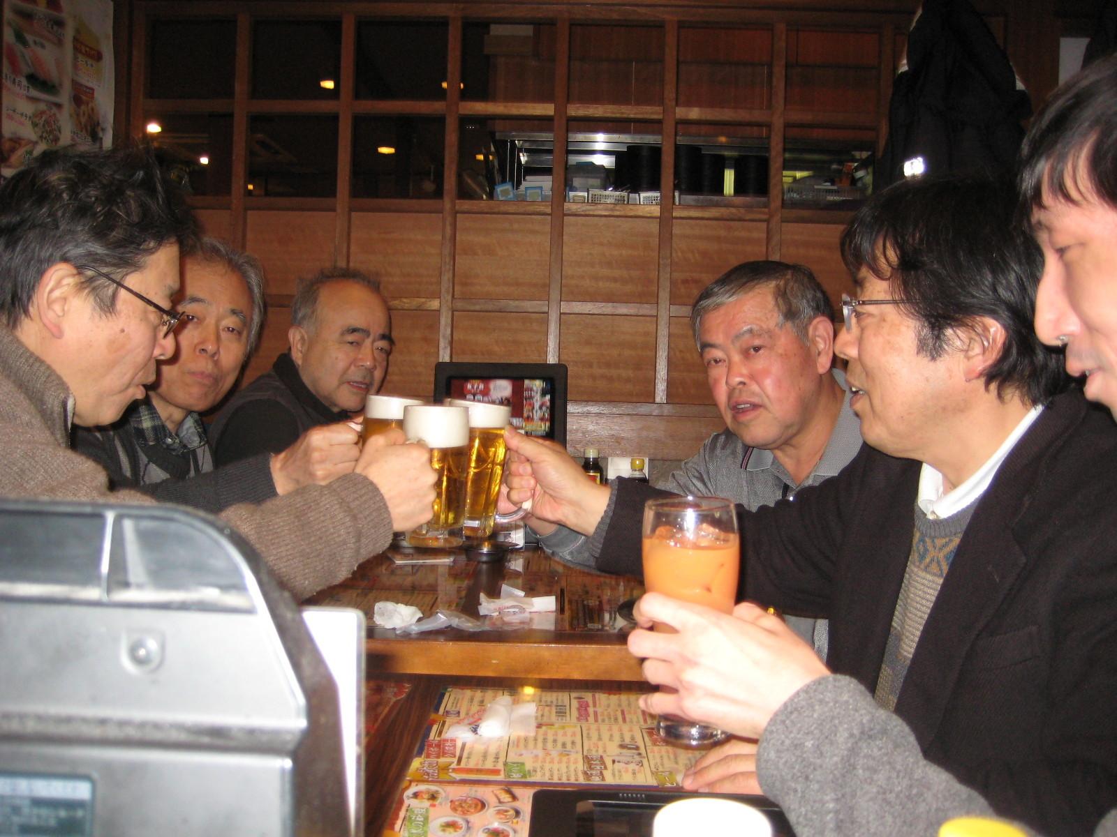 2015.2.15 日暮里例会との合同例会親睦会