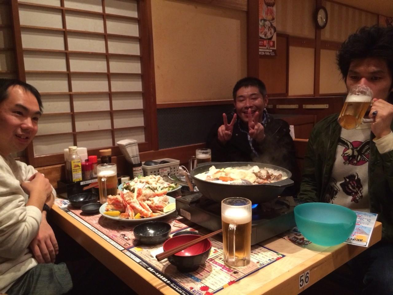 2014.12.14 吃音スロートーク例会、忘年会