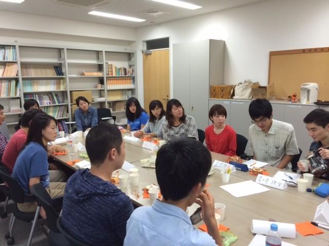 2014.9上智大学院言語聴覚研究コース学生との交流会1