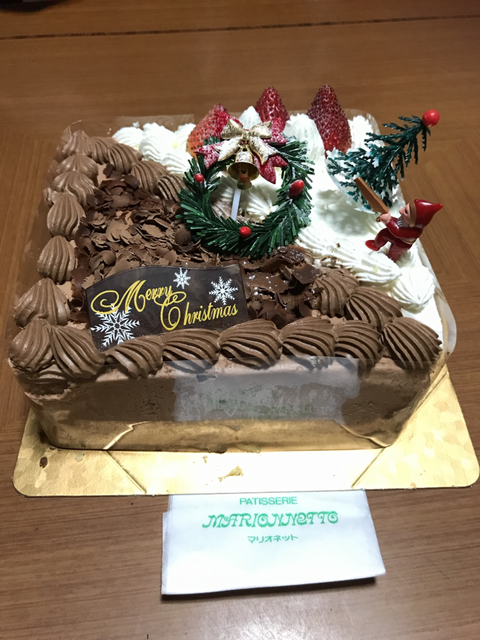 クリスマスケーキハーフ&ハーフ