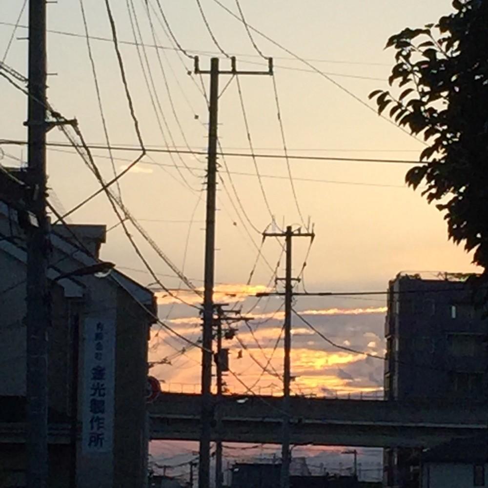 9月2日の夕焼け