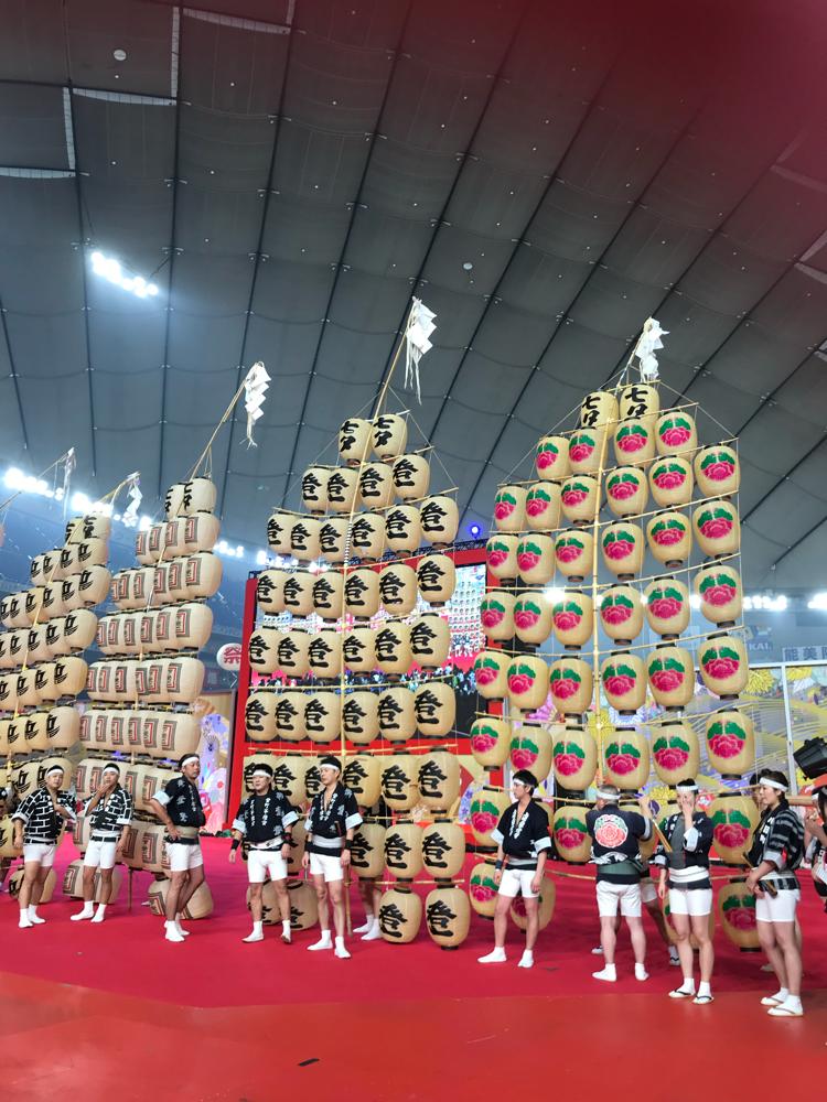秋田竿燈祭り