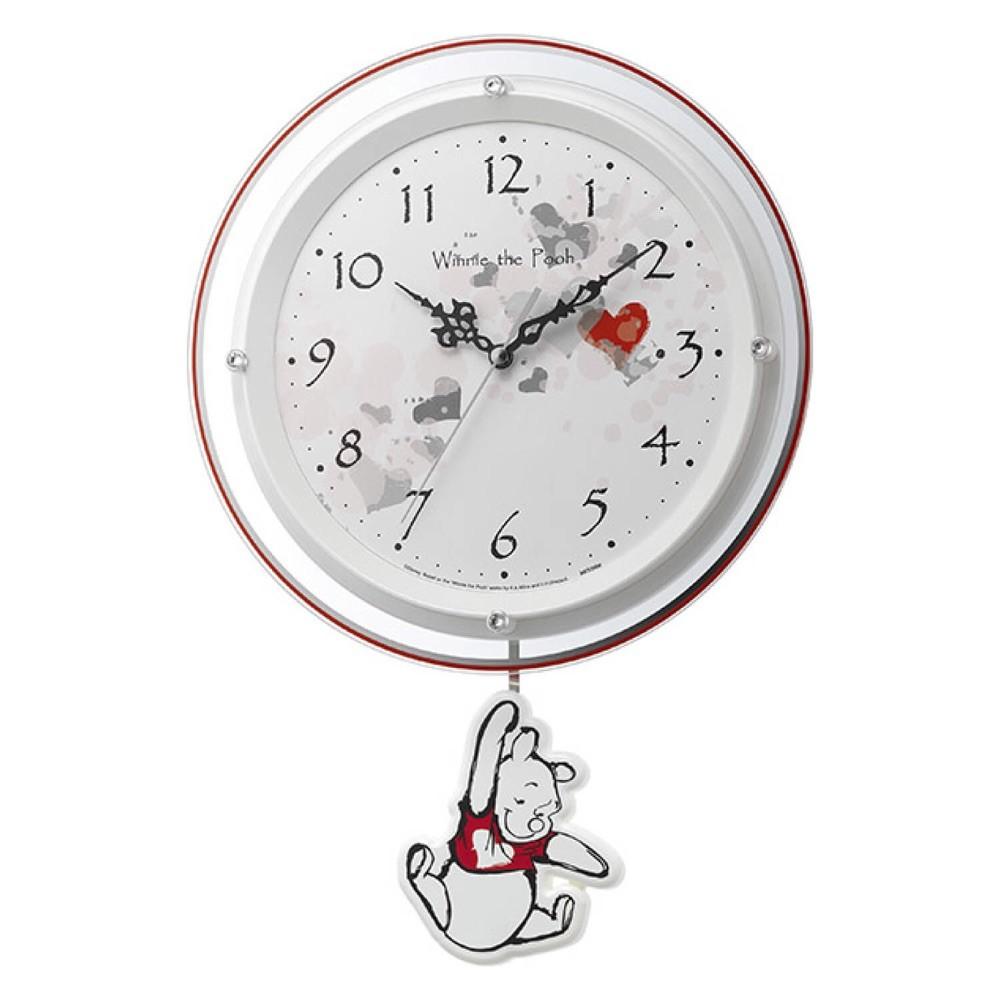 プーさんの振り子時計