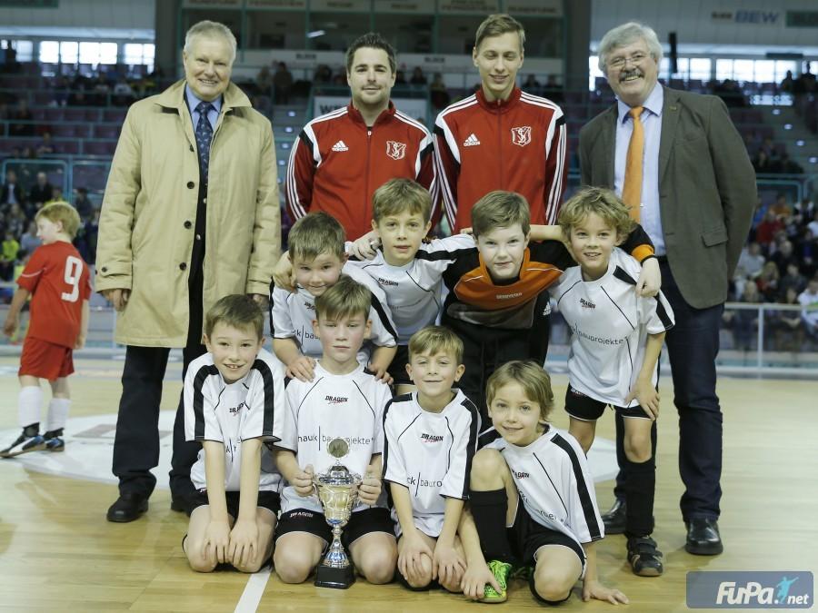 2015 F-Jugend Hallenstadtmeister und Mastercupsieger