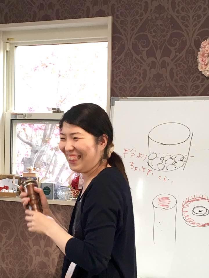万華鏡作家であり、WS講師の小林綾花先生
