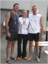 2. Platz: Norman Steinbach und Nelly Steinbach
