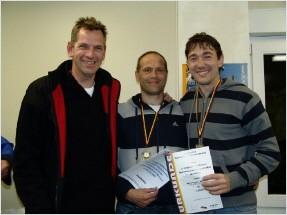 1.Platz Herren: Mathias Sommer und Maik Fischer