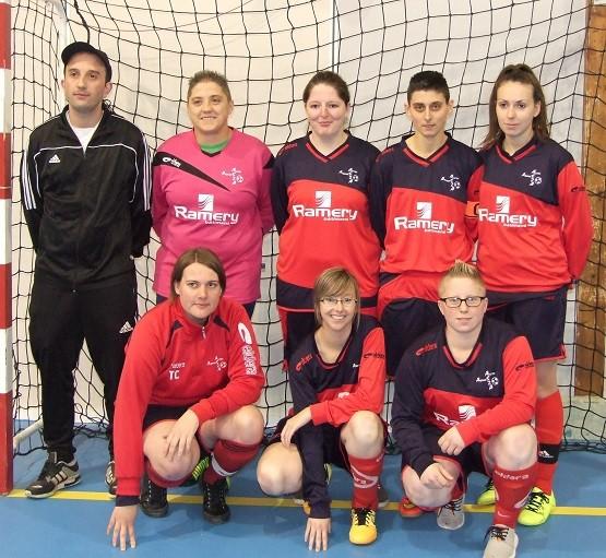 Les vives félicitations aux filles, Vice-championnes de Picardie de futsal féminin !