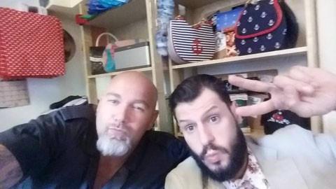Manuel Cortez für Schrank Alarm im Boom Chicka Boom Rockabilly Shop