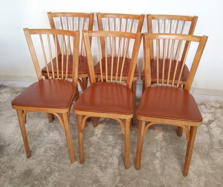 6 chaises Baumann