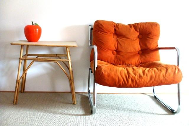 Chauffeuse / fauteuil années 70