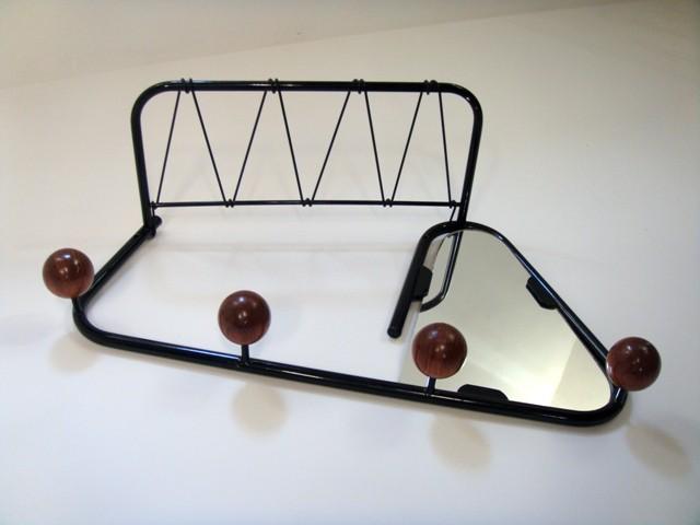 """Porte manteaux et chapeaux """"boule"""" années 50"""
