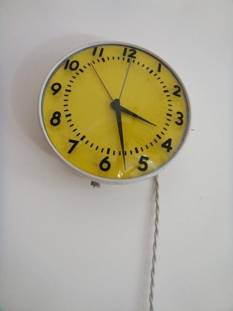 301 2 horloge d 39 atelier vintage muros design et vintage for Horloge atelier