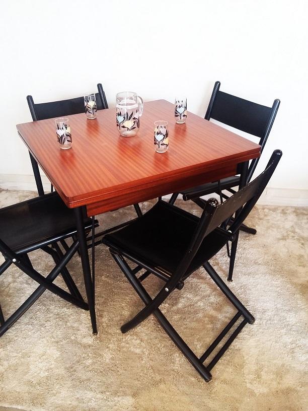 Ambiance salle à manger vintage Hollychinegom