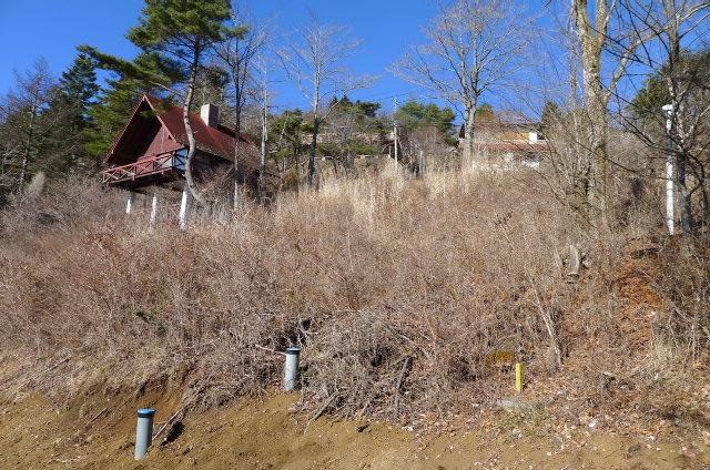 宅地下道路から(北側)の写真