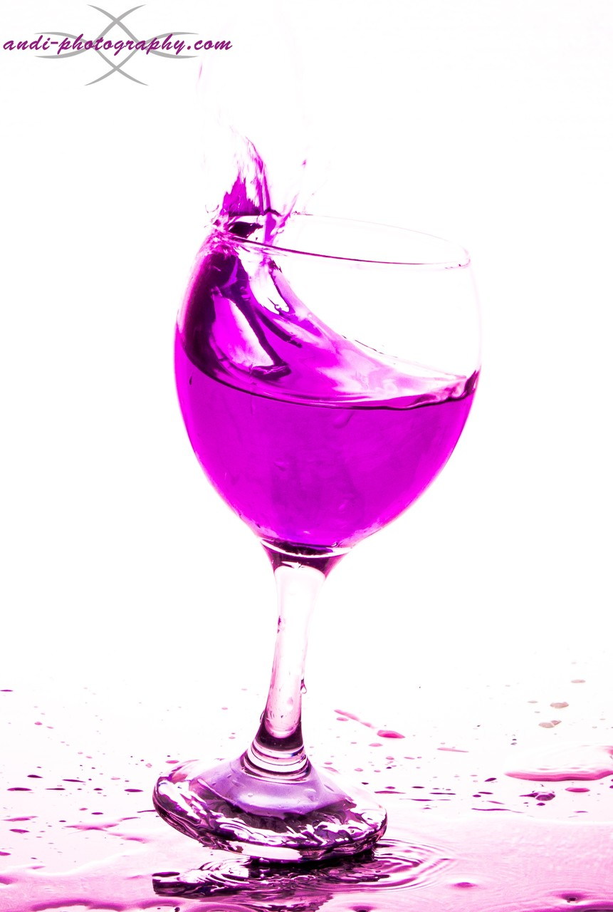 Weinglasshooting