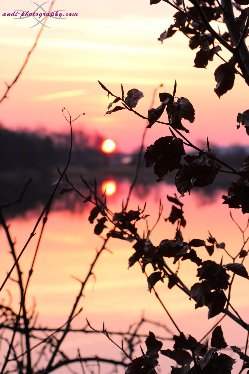 Abtsee Sonnenuntergang