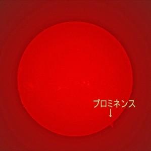 Hα波による太陽