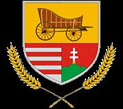 Im Wappen von Kocs (gesprochen: Kotsch) ist heute ein Kutschwagen (Coach) abgebildet